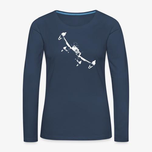 quadflyby2 - Women's Premium Longsleeve Shirt
