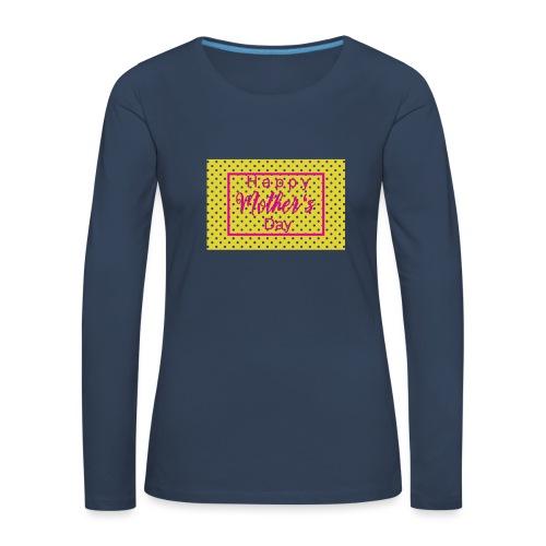 Muttertag - Frauen Premium Langarmshirt