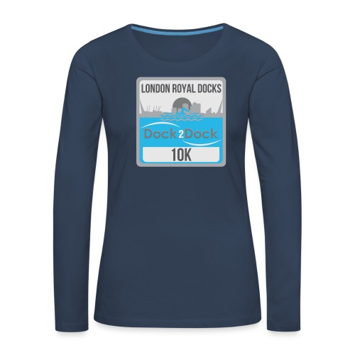 DOCK 2 DOCK CLASSIC BADGE - Women's Premium Longsleeve Shirt