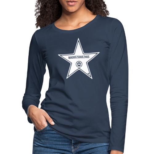 La Femme Merveilleuse - T-shirt manches longues Premium Femme