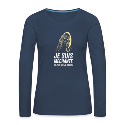 Tshirt Femme - T-shirt manches longues Premium Femme