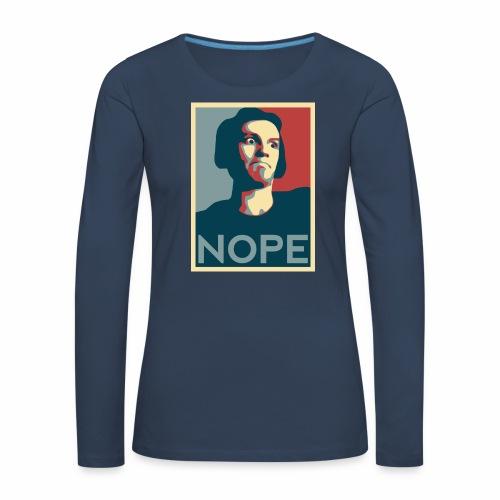 NOPE USA - T-shirt manches longues Premium Femme