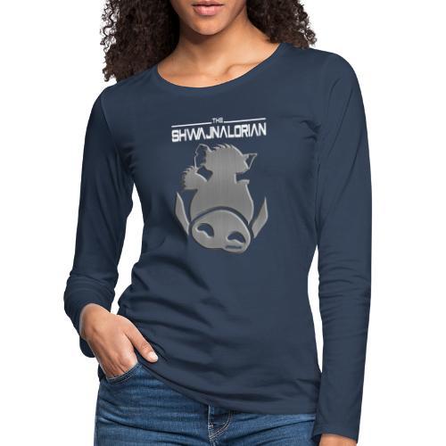 The Shwajnalorian - Vrouwen Premium shirt met lange mouwen