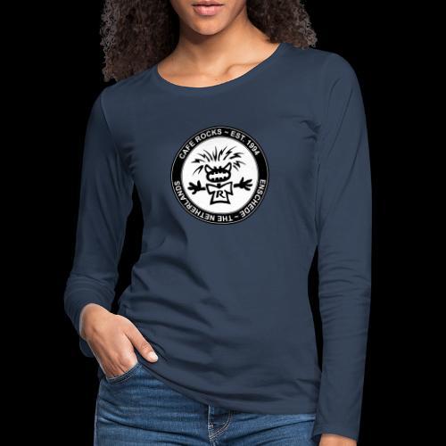 Emblem BW - Vrouwen Premium shirt met lange mouwen