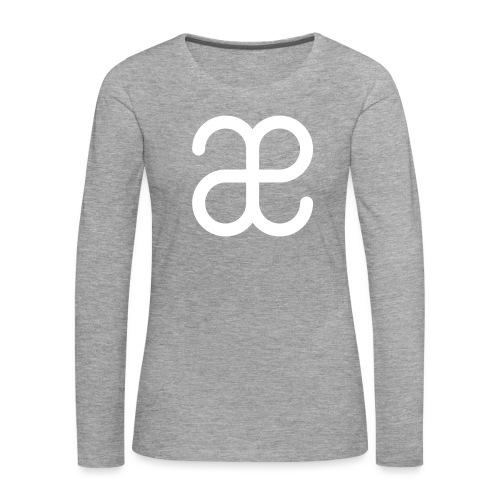 Artesplorando logo - Maglietta Premium a manica lunga da donna