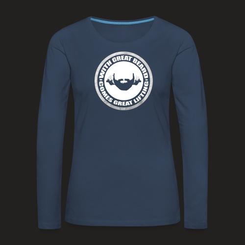 BEARD RESP - Women's Premium Longsleeve Shirt