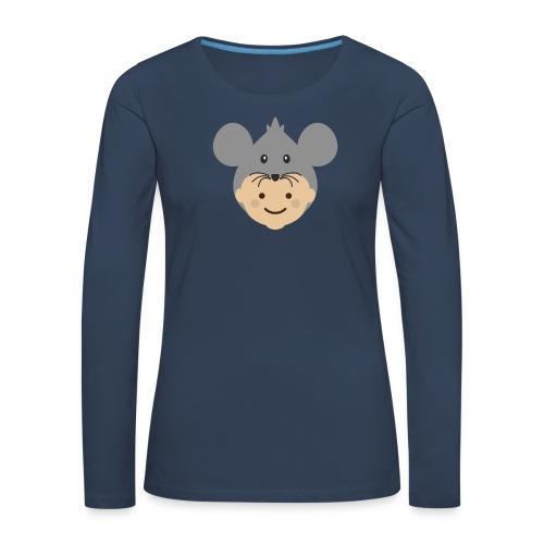 Mr Mousey | Ibbleobble - Women's Premium Longsleeve Shirt