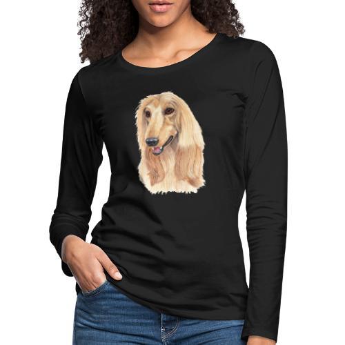 afghanskMynde- A - Dame premium T-shirt med lange ærmer