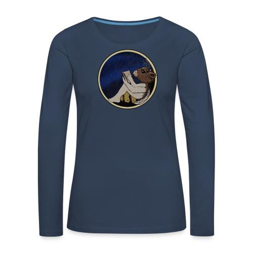 Marilyn's Diary (Round) - Women's Premium Longsleeve Shirt