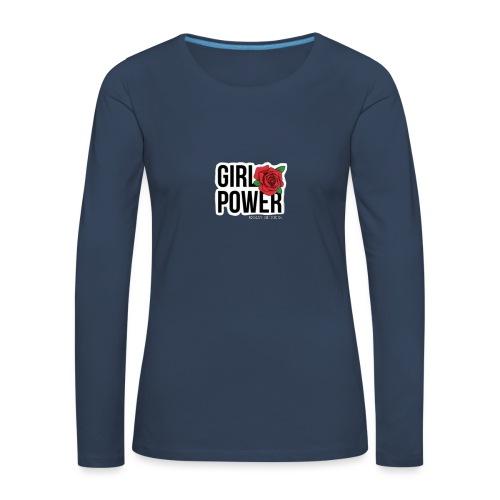Girlpower - Maglietta Premium a manica lunga da donna