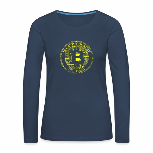 In cryptography we trust 2 - Women's Premium Longsleeve Shirt