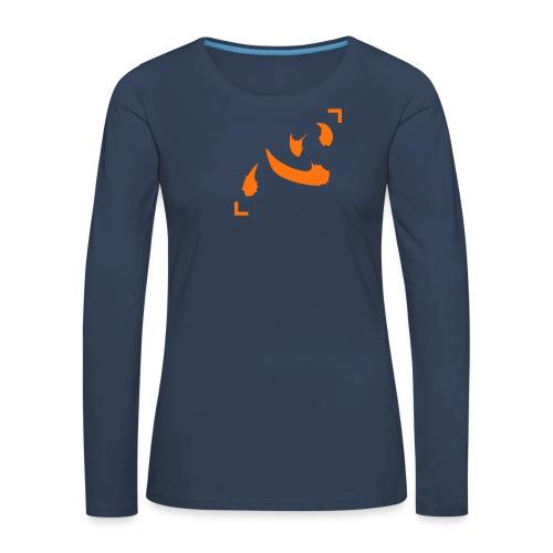 Netero Heart - Vrouwen Premium shirt met lange mouwen