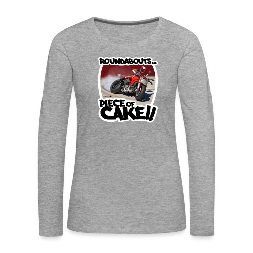 Ducati Monster Skidding - Camiseta de manga larga premium mujer