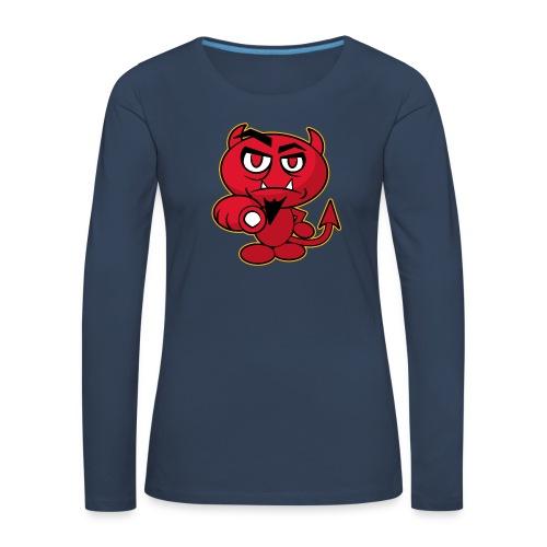 Monster Devil - Women's Premium Longsleeve Shirt