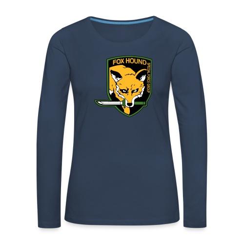 Fox Hound Special Forces - Naisten premium pitkähihainen t-paita