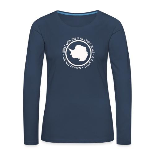 Great God! - Women's Premium Longsleeve Shirt