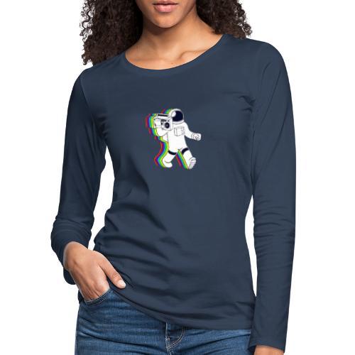 Astronaut - Frauen Premium Langarmshirt