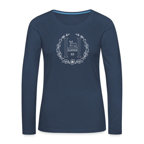 Hälsinge Kaninhoppare - Långärmad premium-T-shirt dam
