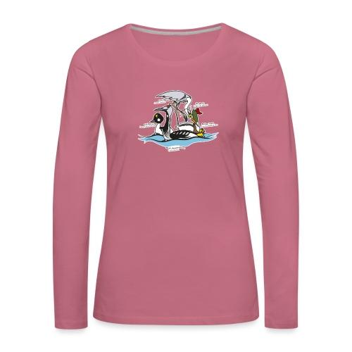 Birds of a Feather - Women's Premium Longsleeve Shirt