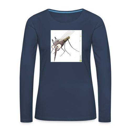 moustique dessin anime - T-shirt manches longues Premium Femme