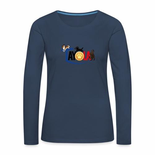 TAYOLA logo 2019 HD - T-shirt manches longues Premium Femme