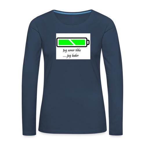 lader_2 - Premium langermet T-skjorte for kvinner