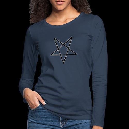 Pentagram4 png - Frauen Premium Langarmshirt