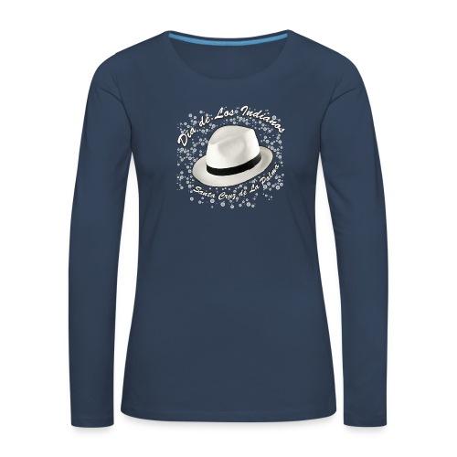 Dia de Los Indianos - Frauen Premium Langarmshirt