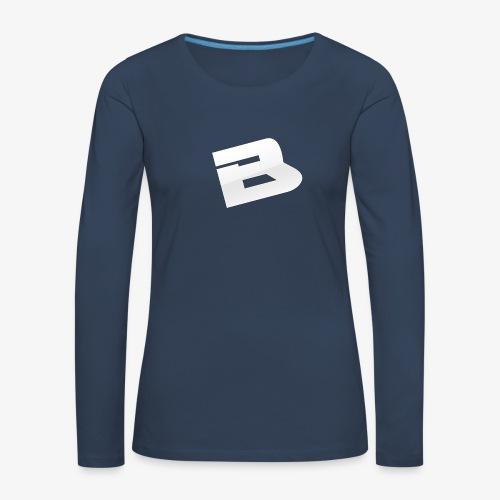 T-Shirt Logo Blues - T-shirt manches longues Premium Femme