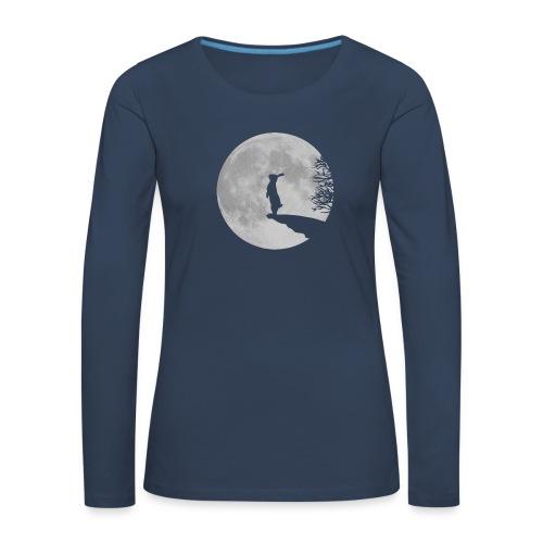 rabbit_wolf-png - Women's Premium Longsleeve Shirt