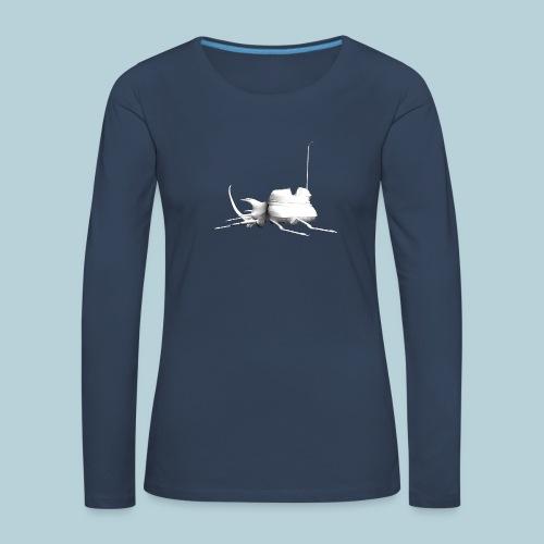 RATWORKS Luna Stag Beetle - Women's Premium Longsleeve Shirt