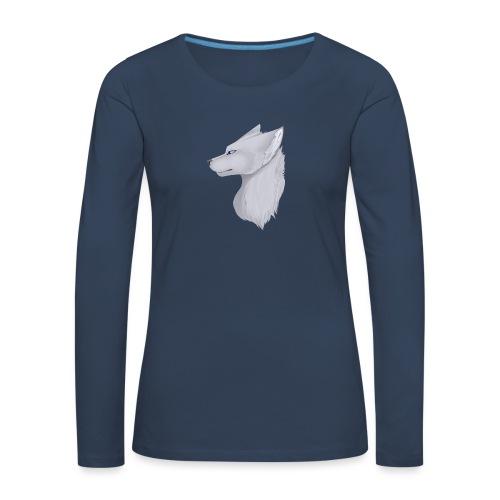 Wolf Bib - Women's Premium Longsleeve Shirt