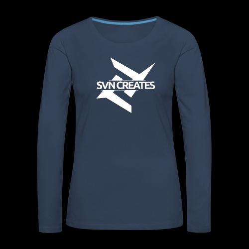 SVN Shirt logo 1 png - Vrouwen Premium shirt met lange mouwen