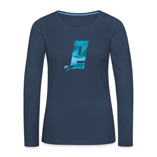 Eventuell Logo small - Shirt White - Frauen Premium Langarmshirt