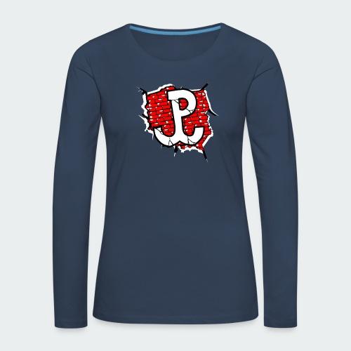 Męska Koszulka Patriotyczna Premium - Koszulka damska Premium z długim rękawem
