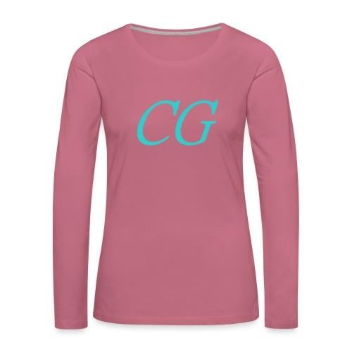 CG - T-shirt manches longues Premium Femme