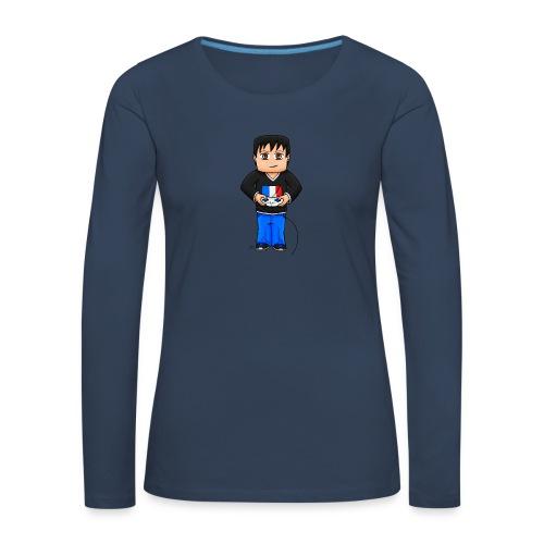 MaximeGaming - T-shirt manches longues Premium Femme