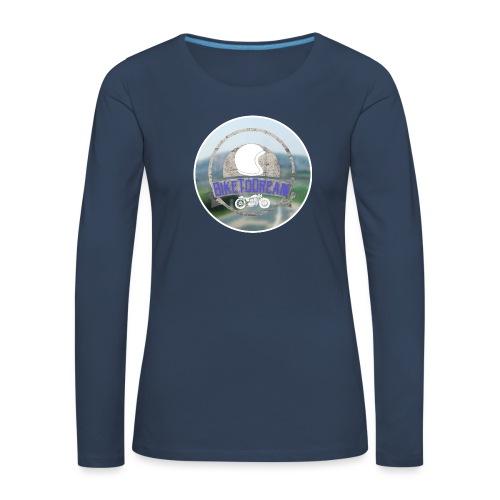 BikeToDream - T-shirt manches longues Premium Femme