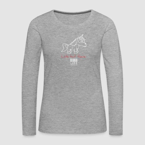 lurr unicorn - Women's Premium Longsleeve Shirt
