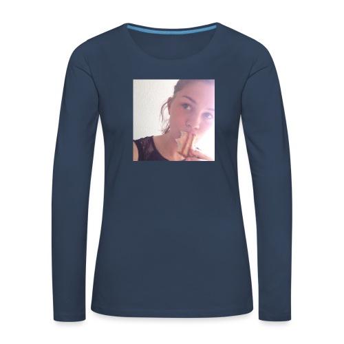 Det' toastBeks - Dame premium T-shirt med lange ærmer