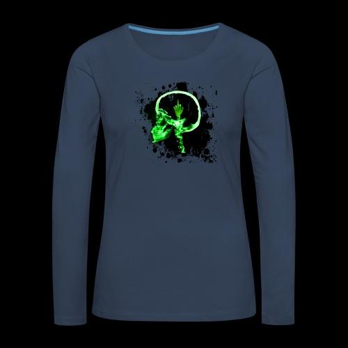 Necro LOGO - Frauen Premium Langarmshirt
