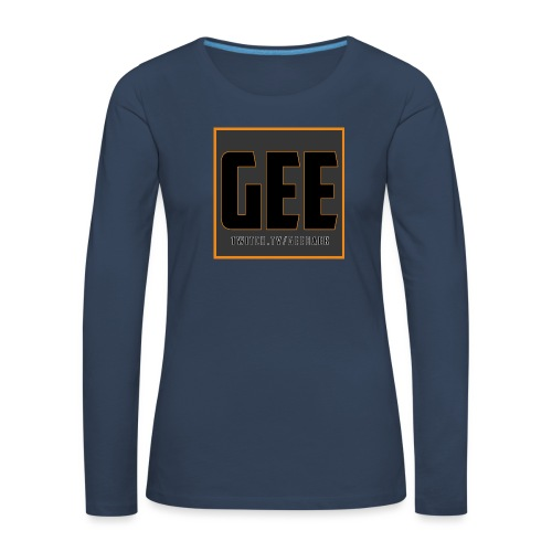 LOGOTSHIRT - Dame premium T-shirt med lange ærmer