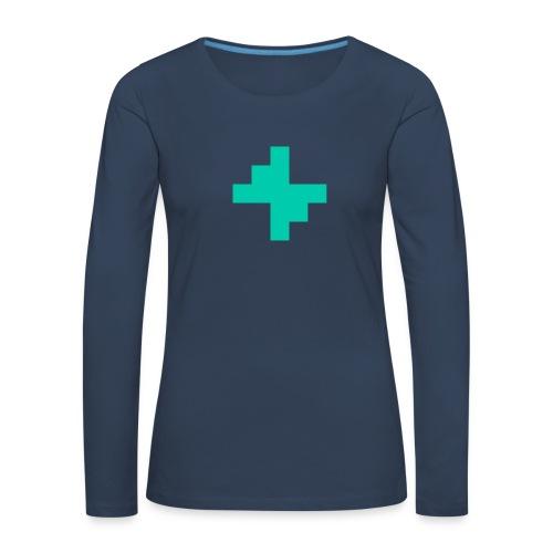 Bluspark Bolt - Women's Premium Longsleeve Shirt