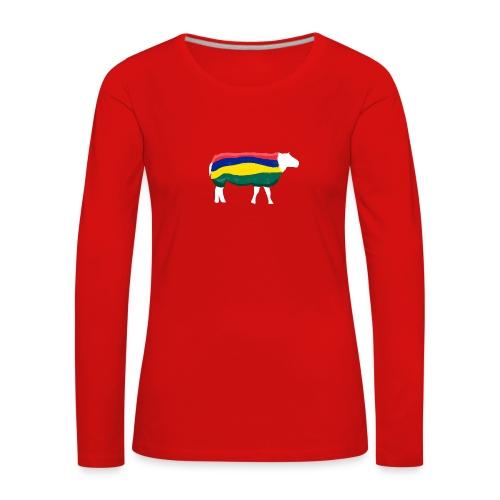 Schaap van Terschelling - Vrouwen Premium shirt met lange mouwen