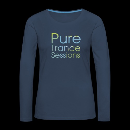 pts text hd - Women's Premium Longsleeve Shirt