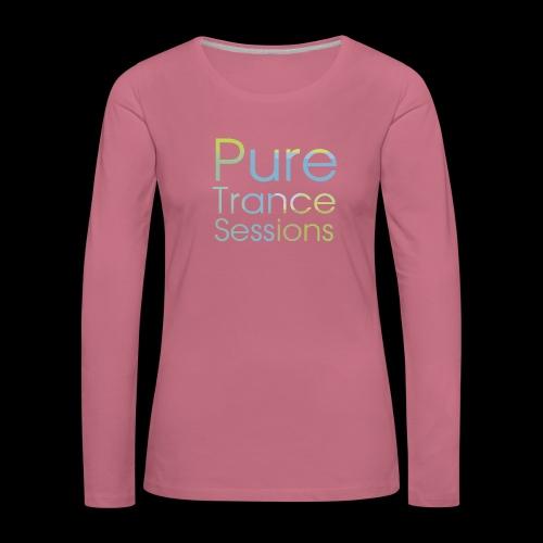 pts text hd - Women's Premium Longsleeve Shirt