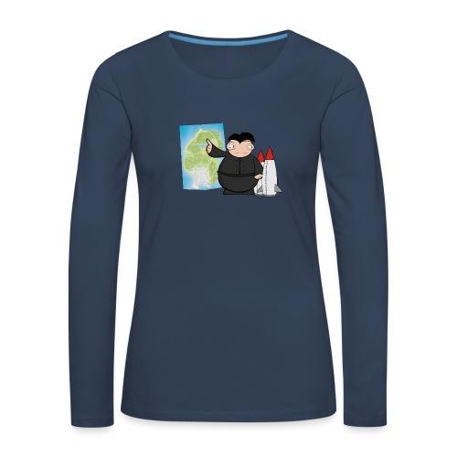Happy Dictator. - Camiseta de manga larga premium mujer