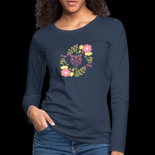 Tee-shirt TIGRE - T-shirt manches longues Premium Femme