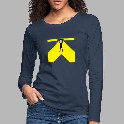 Fitness Lift - Frauen Premium Langarmshirt