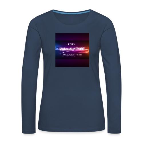 Valoudu17180twitch - T-shirt manches longues Premium Femme